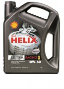 Моторное масло Shell Helix Ultra Racing 10W-60, 4 л
